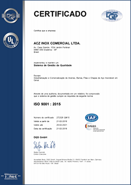 Download Certificado ISO 9001:2015